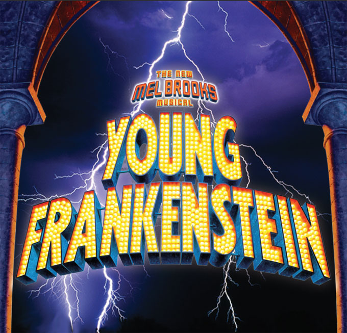 Fox Country Players Young Frankenstein Logo